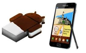 android 4 0 icecream sandwich galaxy note receives android 4 0 4 sandwich update