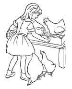 farm coloring pages free printable farm coloring pages