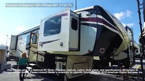 heartland bighorn 5th wheel bh 3750 fl youtube