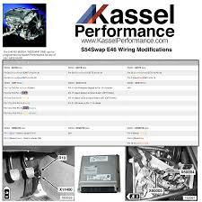 e46 non m s54 wiring modifcations kassel performance