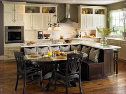kitchen room kitchen islands and carts with seating black