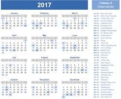 2017 us calendar printable 2017 calendar printable with us holidays free calendar 2017 2018