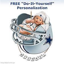 dallas cowboys personalized babys ornament