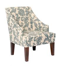 Overstock Armchair Ikat Slate Fabric Accent Chair Free Shipping Today Overstock