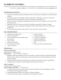 Factory Resume Examples by Professional Automotive Inventory Manager Templates To Showcase