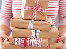 brown gift wrapping paper christmas wrapping ideas