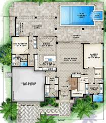 Mediterranean Floor Plan 16 Best Cali House Plans Images On Pinterest Home Plans Floor