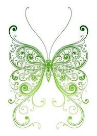 green butterfly designs search cool tattoos