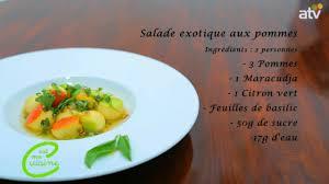 2 emission cuisine emission tv de cuisine c est ma cuisine salade exotique aux