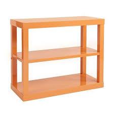 kasler parsons orange bookshelf
