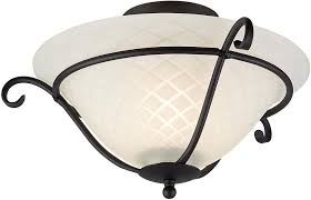 Uk Ceiling Lights Torchiere Black Wrought Iron Flush Ceiling Light Uk Made Tch F Blk