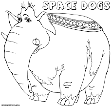 space dogs coloring pages coloring pages to download and print