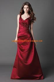 boutique mariage bordeaux robe demoiselle d honneur longue en satin bordeaux