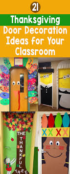 21 thanksgiving door decoration ideas for your classroom bored