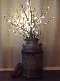 Branches In A Vase Best 25 Lighted Branches Ideas On Pinterest White Branch