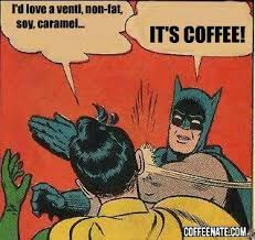 batman coffee meme