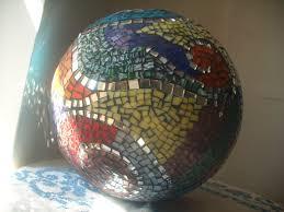 12 Inch Glass Gazing Balls Mosaic Spheres Earthmothermosaics U0027s Blog