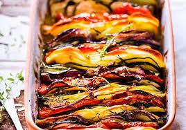 recette cuisine d été tian de pommes de terre et légumes d été recettes de cuisine
