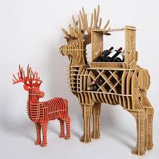 8 colors deer wine rack animal furniture diy creative wine holder