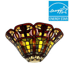 it u0027s exciting lighting stained glass floral half moon battery