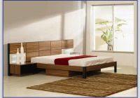 Elevated Platform Bed Floor Tile That Looks Like Brick Flooring Interior Design