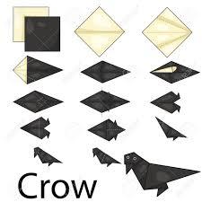 Origami Illustrator - カラス折り紙のイラストレーター ロイヤリティフリークリップアート