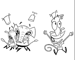 camp lazlo coloring pages coloring pages for kids