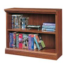 Sauder Bookcase 5 Shelf by 2 Shelf Bookcase Cherry