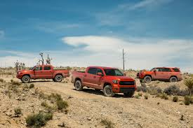 2015 toyota lineup toyota tundra adds to its versatile lineup with two new trd packages