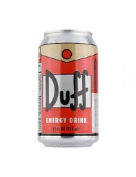beer can cartoon duff energy drink unique gifts shop colorful gifts
