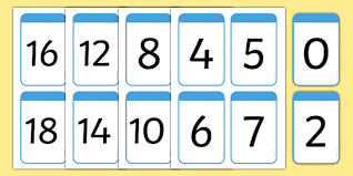 digit math number digit cards 0 100 numeracy digit card math number