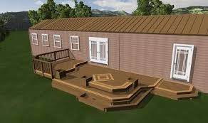 home deck plans mobile home deck ideas great manufactured home porch designs