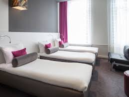 Bed With A Lot Of Pillows Hotel In Amsterdam Ibis Styles Amsterdam Amstel