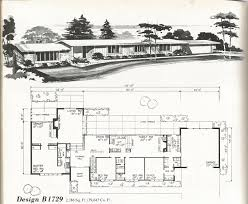 our mid century split level house plans the on rynkus hill modern