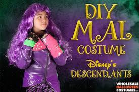 mal costume diy mal costume the descendants wholesale costumes