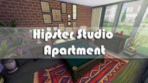 the sims 4 apartment building hipster studio apartment youtube