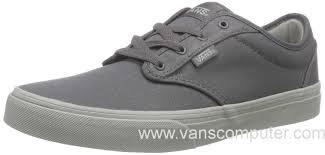 light gray vans womens us men s women s vans atwood men s shoes check liner gray