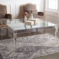 Clear Coffee Table Table Superb Square Coffee Table Clear Coffee Table On Acrylic