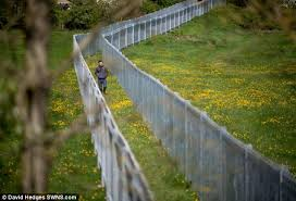 Why Was The Iron Curtain Built Somerset Farmer Defends U0027prison U0027 Style Fence Built To Stop Dog