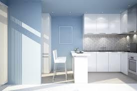 kitchen lighting light blue walls empire chrome contemporary