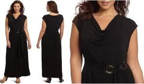 plus size maxi dresses emphasizing your body shape black plus size