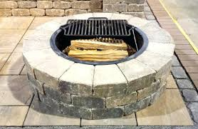 Fire Pit Building Plans - fire pit building guide stone fire pit kit canada found on