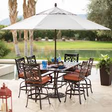 Mainstays Searcy Lane 6 Piece Padded Folding Patio Dining Set - decorating stylish artic patio umbrellas target combined with