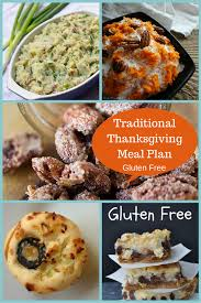 what is a traditional thanksgiving meal thanksgiving meal plan gluten free