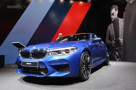 m5 bmw motor 2017 frankfurt auto the f90 bmw m5 in marina bay blue