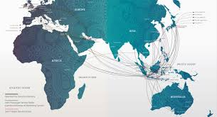 Qatar Route Map by Garuda Indonesia Book Our Flights Online U0026 Save Low Fares