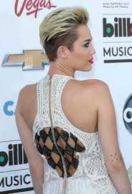 miley cyrus type haircuts miley cyrus extremely short hairstyle with the hair buzzed close