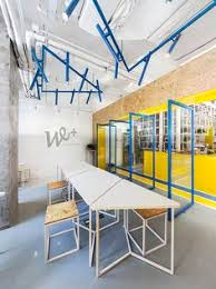Define Co Interior Interior Design Idea Use Color To Define An Area Bright Yellow