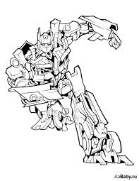 transformer bumblebee coloring pages