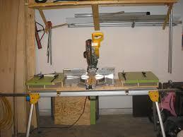 miter saw bench tools u0026 equipment contractor talk